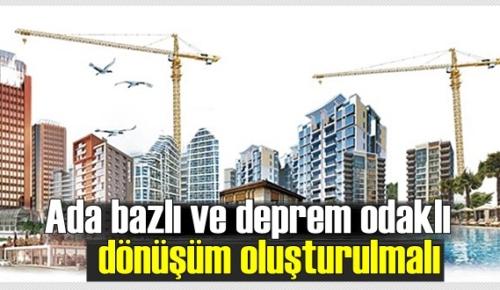 Deprem ülkesi olan Türkiye'de kentsel dönüşüm yeniden ana gündem maddesi oldu