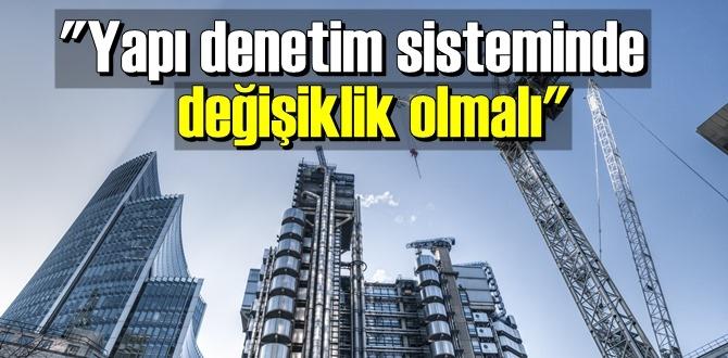 İzmir'de yaşanan depremden sonra Müteahhitler Birliği'nden sisteme dair değişiklik talebi geldi.