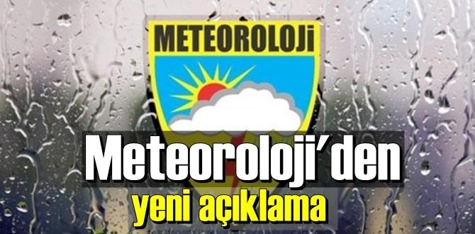 Dikkat! Sağanak yağış 14 kasım Cumartesi sabah saatlerinden itibaren etkili Olacak!