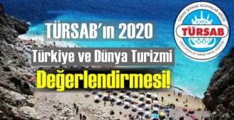 TÜRSAB'ın 2020 Türkiye ve Dünya Turizmi Raporu!