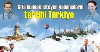 Sağlık Truzimde yabancıların tercihi Türkiye oldu
