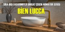 SIRA DIŞI TASARIMIYLA DİKKAT ÇEKEN ARMATÜR SERİSİ: BİEN LUCCA