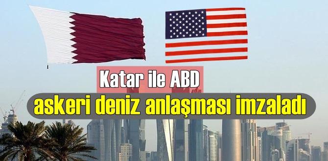 ABD ile Katar arasında askeri deniz anlaşması imzalandı
