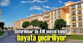 TOKİ'nin İzmir'deki yeni projesi Seferihisar'da kurulacak
