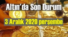 3 Aralık 2020 perşembe Ekonomi'de Altın piyasası, Altın güne nasıl başlıyor