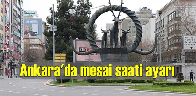 İl Umumi Hıfzıssıhha Kurulu Ankara'da yeni mesai saati ayarı getirdi!
