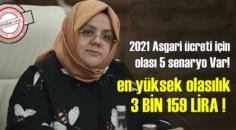 2021 Asgari ücreti için olası 5 senaryo Var! en yüksek olasılık 3 BİN 159 LİRA