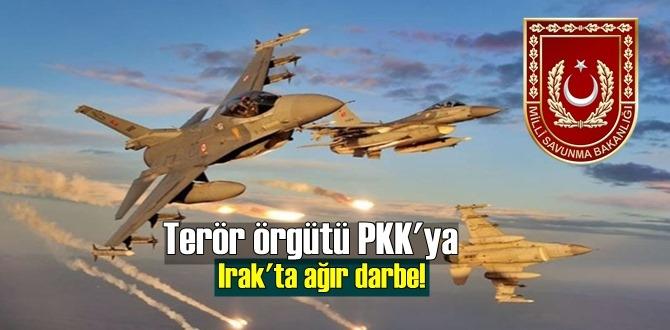 PKK'ya Irak'ta, Metina ve Haftanin bölgesinde ağır darbe indirildi!