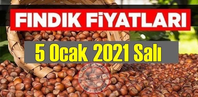 5 Ocak 2021 Salı Türkiye günlük Fındık fiyatları, Fındık bugüne nasıl başladı