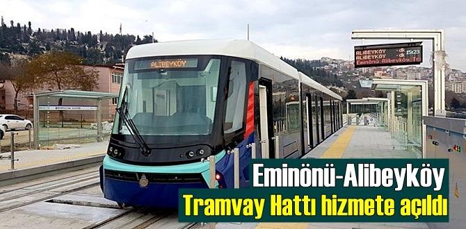 Birçok bölgenin gayrimenkul piyasasını etkileyen Eminönü-Alibeyköy Tramvay Hattı açıldı