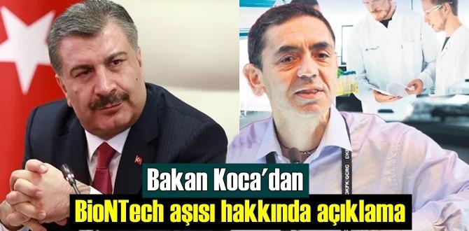 Sağlık Bakanı Koca: BioNTech aşısının kapasitesi artacak!