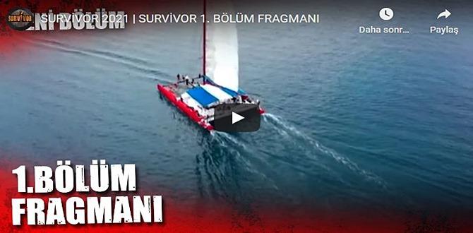 9 Ocak – Survivor 2021 1.Bölüm 3. Fragmanına bakıver