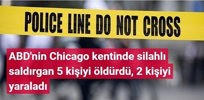 ABD'nin Chicago kentinde silahlı saldırı Ölü ve yaralılar var