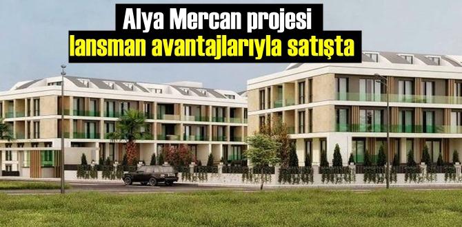 İstanbul'da inşa edilen Alya Mercan projesinde satışlar başladı