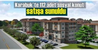 Karabük'te 112 adet sosyal konut satışa sunuldu