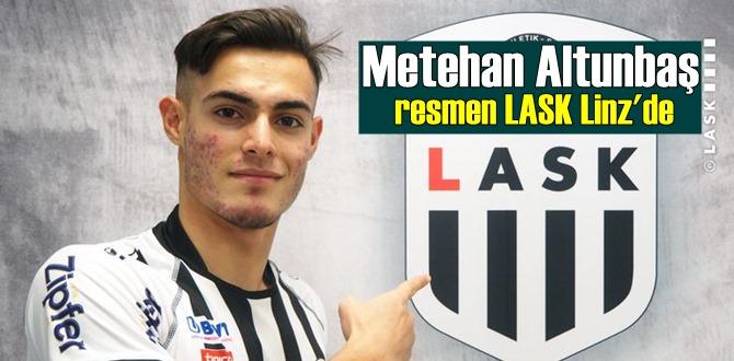 Metehan Altunbaş yerini buldu, Altunbaş resmen LASK Linz'li oldu!