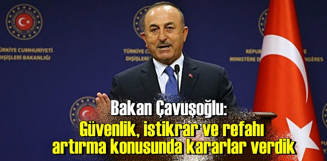 Bakan Çavuşoğlu açıklamalarda bulundu: Ticaret hacmimiz 800 milyon dolar civarında!