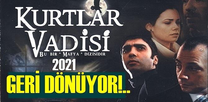 Kurtlar Vadisi dizisi 2021 Şubat ayında! Kurtlar Vadisi Kaos fragmanı ile yakında!..