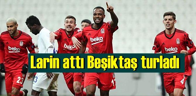 Beşiktaş - Çaykur Rizespor skor 1-0, Beşiktaş'ın yüzü güldü çeyrek finade!