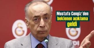 Galatasaray Başkanı Mustafa Cengiz'den Canlı yayında önemli detaylı açıklamalar geldi!