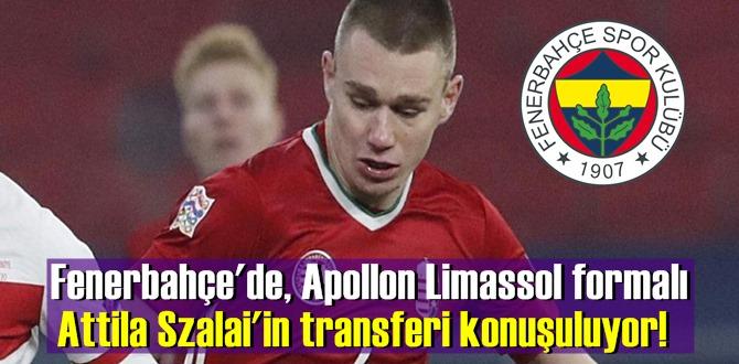 Fenerbahçe'de, Apollon Limassol formalı Attila Szalai'in transferi konuşuluyor!