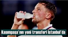 Kasımpaşa'nın yeni transferi 30 yaşındaki Drinkwater İstanbul'da