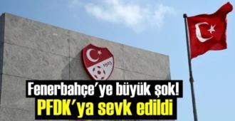 Fenerbahçe şaşkın! O futbolcu PFDK'ya sevk edildi!