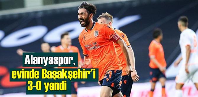 Aytemiz Alanyaspor, Medipol Başakşehir'i konuk etti, Skor 3-0