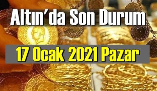 Altın fiyatları 17 Ocak Pazar, Tam,çeyrek ve gram altın fiyatları nedir? bugün Altın fiyatları 17 Ocak !