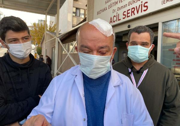Maske uyarısı yapan doktora taşla saldırdılar! Başına 8 dikiş atıldı