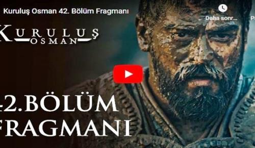 17 Ocak – Kuruluş Osman 42.Bölüm Fragmanına bakıver