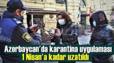 Komşumuz Azerbaycan'da Covid-19 karantina kısıtlaması tekrar uzatıldı!