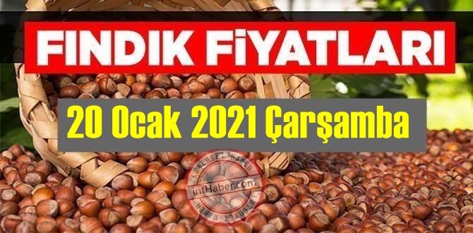 20 Ocak 2021 Çarşamba Türkiye günlük Fındık fiyatları, Fındık bugüne nasıl başladı