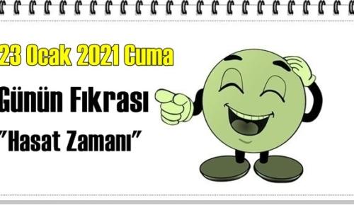 Günün Komik Fıkrası – Hasat Zamanı / 23 Ocak 2021 Cuma