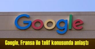 Amerikan internet devi Google, Fransa ile telif konusunda anlaştı,yayıncılara telif hakkı ödeyecek