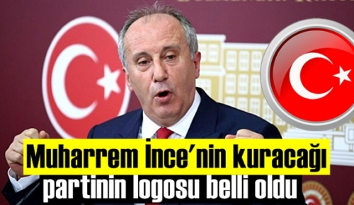 CHP'den ayrılan Muharrem İnce'nin partisinin adı ve logosu ortaya çıktı