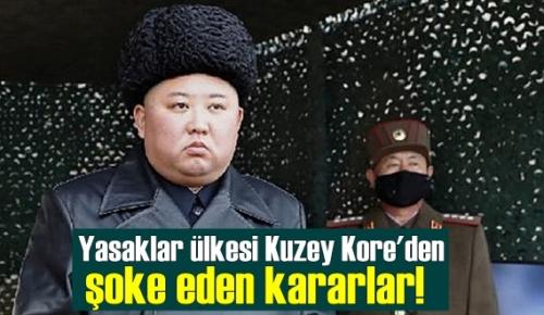 Kuzey Kore Lideri Kim Jong un'un, Halkına koyduğu yasaklar'a her gün yenisi ekleniyor!
