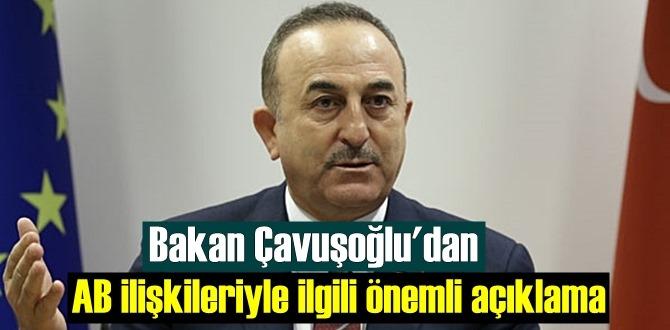 Bakan Çavuşoğlu, AB ilişkileriyle kritik görüşmelerin ardından temaslarını değerlendirdi!