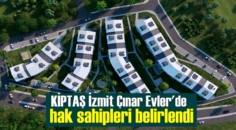 İzmit'te KİPTAŞ tarafından inşa edilen sosyal konut projesinde kuralar çekildi