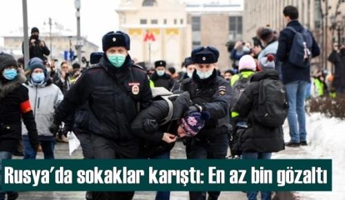 Rusya'da sokaklar karıştı: Polisi eylemcilere sert müdahalede bulundu Yüzlerce gözaltılar var!