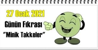 Günün Komik Fıkrası – Minik Takkeler / 27 Ocak 2021