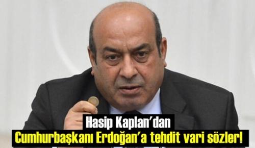 HDP eski Vekil Hasip Kaplan'dan Cumhurbaşkanı Erdoğan'a tehdit vari sözler!