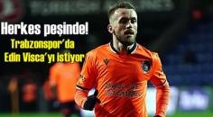 Yıldız Futbolcu Edin Visca'nın peşine düştüler!