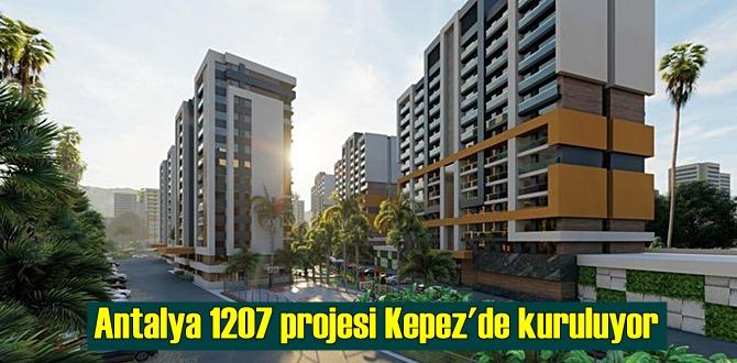 Antalya 1207 projesinde uygun fiyatlı konutların satış dönemi başladı