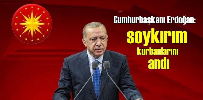 Cumhurbaşkanı Erdoğan: İnsanlık olarak zor bir dönemden geçiyoruz!