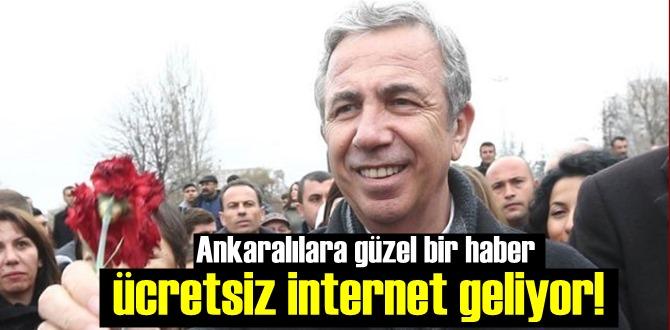 Ankaralılara güzel bir haber, ücretsiz internet geliyor! wifi.ankara.bel.tr