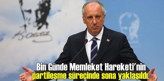 Muharrem İnce: CHP'de Son Günlerim! Memleket Hareketi'nin sürecinde sona yaklaşıldı.