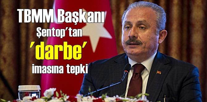 TBMM Başkanı Şentop'tan Gazeteci Can Ataklı ve eski Genelkurmay Başkanı İlker Başbuğ'a göderme!