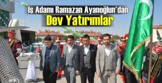 İş insanı Ramazan Ayanoğlu: Emek kadar güzel bir şey yoktur!