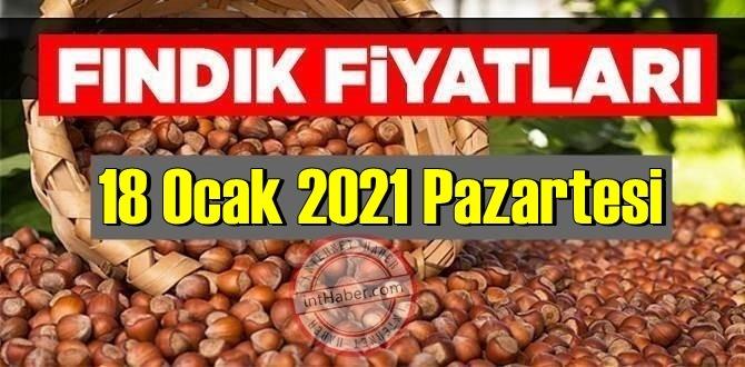 18 Ocak 2021 Pazartesi Türkiye günlük Fındık fiyatları, Fındık bugüne nasıl başladı